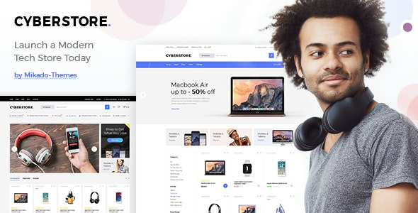 CyberStore - Simple eCommerce Shop 1
