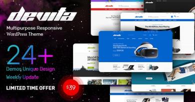 Devita - Multipurpose Theme for WooCommerce WordPress 3