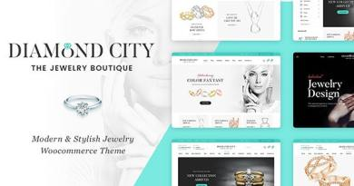 DiCi - Jewelry Shop WordPress Theme 3
