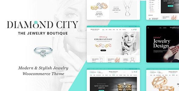 DiCi - Jewelry Shop WordPress Theme 1