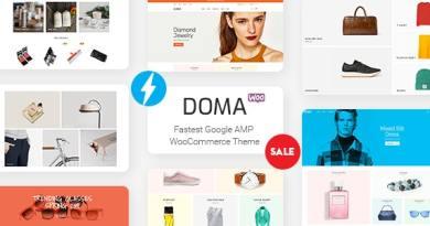 Doma - Google AMP Multi Vendor WooCommerce Theme 3