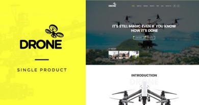 Drone - Single Product WordPress Theme 13