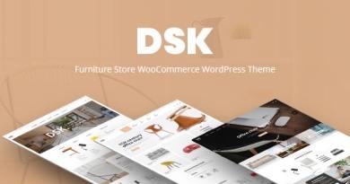 DSK - Furniture Store WooCommerce WordPress Theme 2