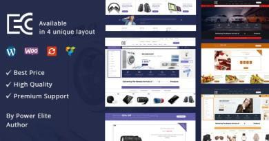 eCode - Multipurpose WooCommerce Theme 3