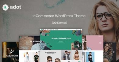 eCommerce WordPress Theme - adot 2