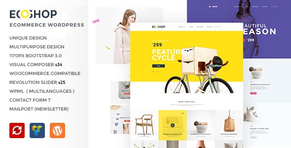 ECOSHOP - Multipurpose eCommerce WordPress Theme 3