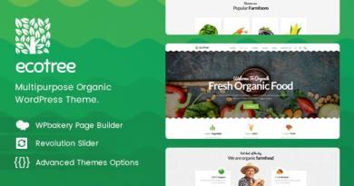 Ecotree - Organic Food WordPress Theme 3