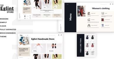 Eglint - Minimal and Modern WooCommerce Theme 2