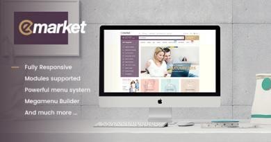 Emarket Multi-purpose WooCommerce Wordpress theme 4