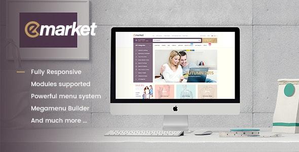 Emarket Multi-purpose WooCommerce Wordpress theme 10
