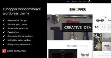 eShopper - WooCommerce WordPress Theme 4
