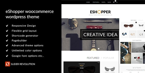 eShopper - WooCommerce WordPress Theme 1