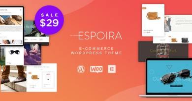 Espoira - eCommerce WordPress Theme 2