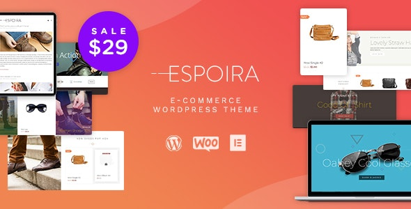 Espoira - eCommerce WordPress Theme 1