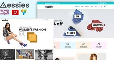 Essies - Modern Fashion WooCommerce Theme 2