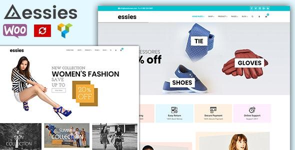 Essies - Modern Fashion WooCommerce Theme 1