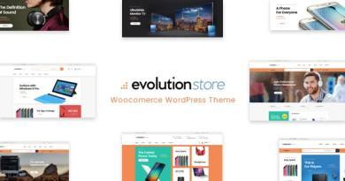 Evolution - WooCommerce Multipurpose WordPress Theme 2