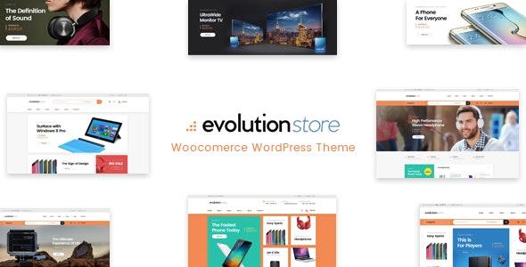 Evolution - WooCommerce Multipurpose WordPress Theme 3