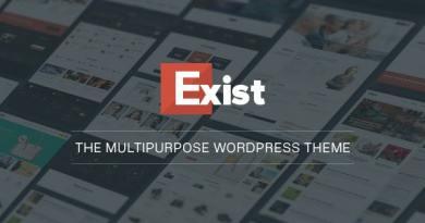 Exist Multi-Purpose WordPress Theme 2