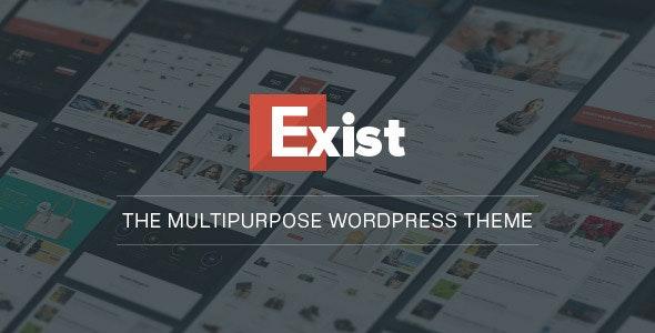 Exist Multi-Purpose WordPress Theme 3