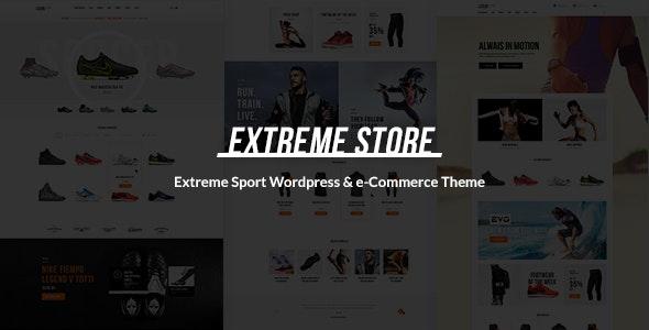 Extreme | Sports Clothing & Equipment Store WordPress Theme 3