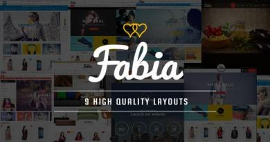 Fabia - Multipurpose Responsive WooCommerce WordPress Theme 3