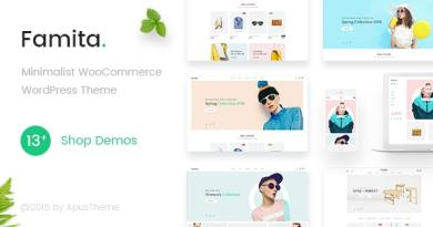 Famita - Minimalist WooCommerce WordPress Theme 3