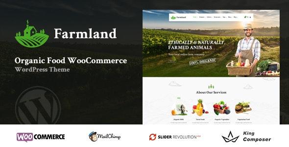 Farmland - Organic Food WooCommerce WordPress 1