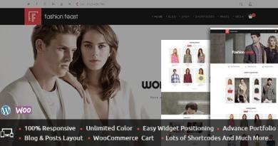 Fashion Feast - WooCommerce Responsive Theme 16