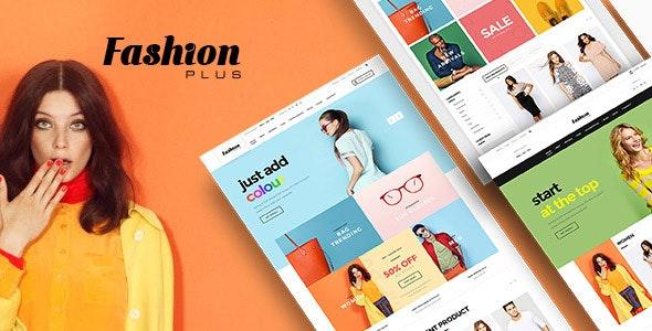 FashionPlus - Minimal & Modern WooCommerce WordPress Theme - 1