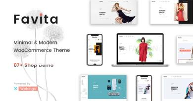 Favita - Fashion WooCommerce WordPress Theme 14