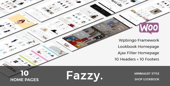 Fazzy - Responsive WooCommerce Fashion Theme 1