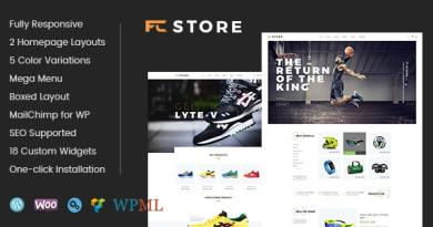 FcStore - Sports, Fitness and Gym WooCommerce WordPress Theme 3