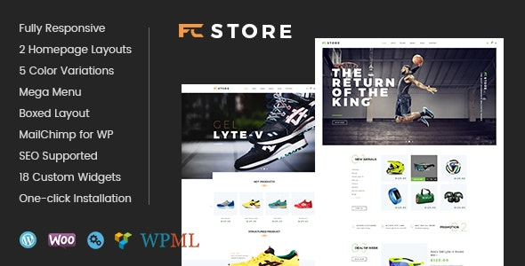 FcStore - Sports, Fitness and Gym WooCommerce WordPress Theme 1