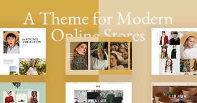 Fey - Modern eCommerce Theme 4