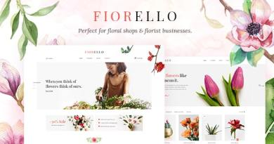 Fiorello - Florist and Flower Shop Theme 11