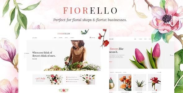 Fiorello - Florist and Flower Shop Theme 34
