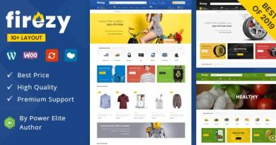 firezy - Multipurpose WooCommerce Theme 4