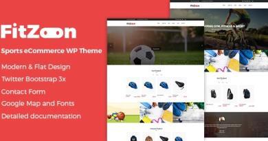 Fitzoon - Sports Store WooCommerce WordPress Theme 3
