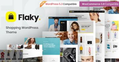 Flaky - An eCommerce Theme 3