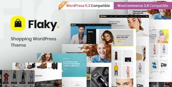 Flaky - An eCommerce Theme 1
