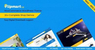 Flipmart - Responsive Ecommerce WordPress 3