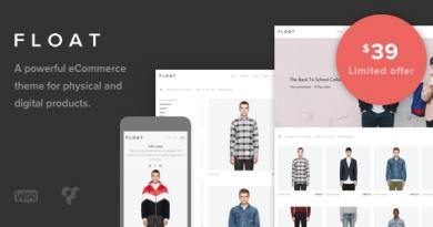 Float - Minimalist eCommerce Theme 4