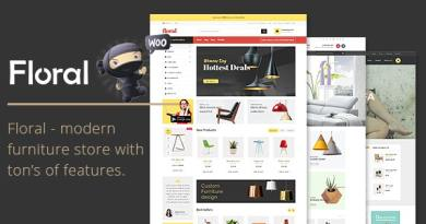 Floral - Furniture Store WooCommerce WordPress Theme 21