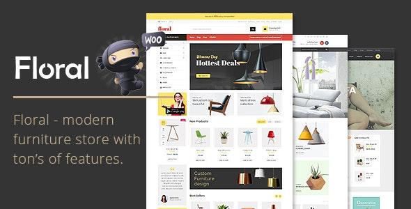 Floral - Furniture Store WooCommerce WordPress Theme 1