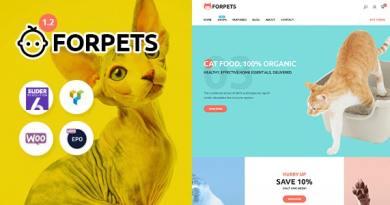 Forpets - Food Shop WooCommerce Theme 5