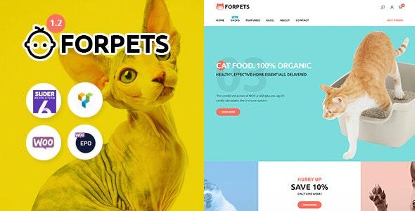 Forpets - Food Shop WooCommerce Theme 2