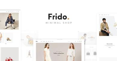 Frido - WooCommerce WordPress Theme 2