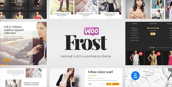 Frost - Minimal AJAX WooCommerce Theme 1