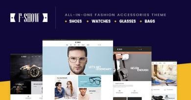 Fshow - WooCommerce Responsive WordPress Theme 4